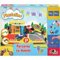 INT3480_001w Set de joaca Plastelino, Parcarea cu masini