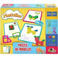INT3527_001w Set de joaca Plastelino, Puzzle de modelat