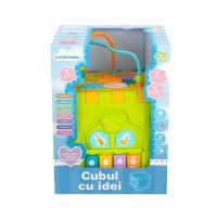 INT3831_001w Jucarie bebelusi Noriel Bebe, Cubul cu idei