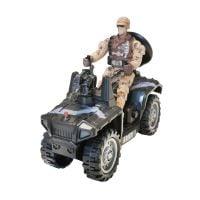 INT4067_001w Set Atv militar si figurina Cool Machines