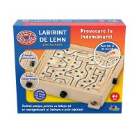 INT4135_001w Joc clasic Noriel Games, Labirint de lemn