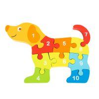 INT4494_001w Jucarie bebelusi Noriel Bebe Wood - Puzzle catel