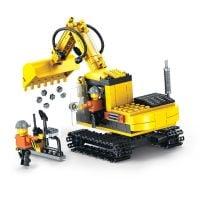 INT4937_001w Jucarie de constructie Micul Constructor - Excavator
