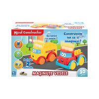 INT4746_001w Jucarie bebelusi Micul Constructor - Masinute vesele
