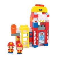 INT4777_001w Jucarie bebelusi Micul Constructor - Statia de pompieri