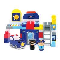 INT4784_001w Jucarie bebelusi Micul Constructor - Sectia de politie