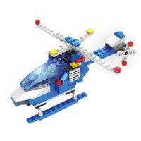 INT4791_001w Jucarie de constructie Micul Constructor - Elicopter de politie