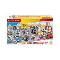 INT4852_001w Jucarie de constructie Micul Constructor - Echipa de interventie 3 in 1