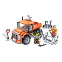 INT4869_001w Jucarie de constructie Micul Constructor - Camioneta