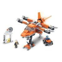 INT4876_001w Jucarie de constructie Micul Constructor - Avion