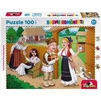 5947504025854 Puzzle 100 piese, Noriel Basme Romanesti, Fata babei si fata mosneagului