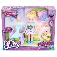INT5873_001w Papusa Lilia Mini cu animalut