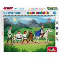 5947504025908 Puzzle 100 piese, Noriel Basme Romanesti, Povestea lui Harap Alb