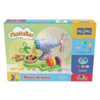 Set de joaca cu plastilina, Masina de paste, Plastelino