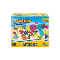 Set de modelare Plastelino - Alfabet din plastilina