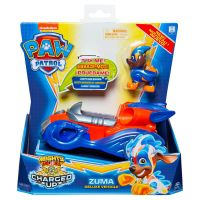 6055753_005w Figurina cu vehicul Paw Patrol Deluxe Vehicle Mighty Pups, Zuma 20121277