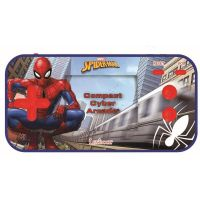 JL2367SP_001w Consola portabila Cyber Arcade Lexibook, Spiderman, 150 jocuri