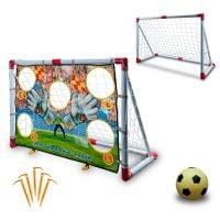 JOC0041_001 Set poarta si minge de fotbal King Sport
