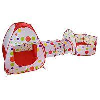 JOC0176_001 Set de joaca Cort cu tunel pentru copii King Sport