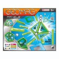 Joc de constructie magnetic Geomag Panels, 32 piese - GEOM460_001 (1)