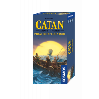 Joc de societate Catan - Pirati si Exploratori (extensie) 5/6 jucatori