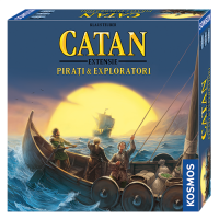 Joc de societate Catan - Pirati si Exploratori (extensie)