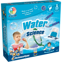 Joc educativ Science4you, set experimente cu apa