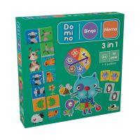 Joc Noriel 3 in 1 (Bingo, Memo, Domino) II 1