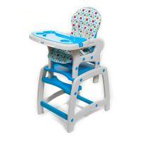 JU3002-Blue_001 Scaun de masa Juju Eat&Play, Albastru