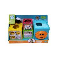 Jucarie bebelusi B Kids 4 cuburi cu butoane 970-003066-82
