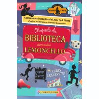 JUN.1046_001w Carte Editura Corint, Lemoncello vol. 2 Olimpiada din biblioteca domnului Lemoncello, Chris Grabenstein