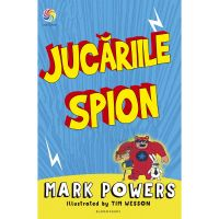 JUN.1092_001w Carte Editura Corint, Jucariile-spion, Mark Powers