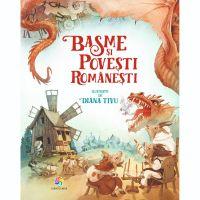 JUN.1137_001w Carte Editura Corint, Basme si povesti romanesti