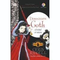 JUN.1184_001w Carte Editura Corint, Domnisoara Goth si festinul cel sinistru, Chris Riddell