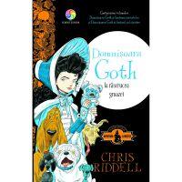 JUN.1198_001w Carte Editura Corint, Domnisoara Goth la rascrucea groazei, Chris Riddell
