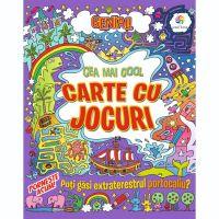 JUN.1227_001w Carte Editura Corint, Genial! Cea mai cool carte cu jocuri, Lisa Regan