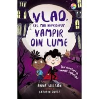 JUN.1258_001w Carte Editura Corint, Vlad, cel mai nepriceput vampir vol.II Noi aventuri la conacul suferintei, Anna Wilson