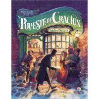 JUN.1263_001w Carte Editura Corint, Poveste de Craciun, Charles Dickens