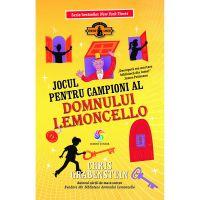 JUN.1271_001w Carte Editura Corint, Lemoncello vol. 4 Jocul pentru campioni al domnului Lemoncello, Chris Grabenstein