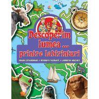 JUN.1300_001w Carte Editura Corint, Descoperim lumea...printre labirinturi