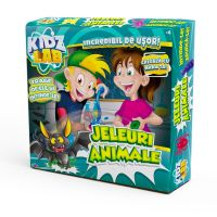 K02KL002_001w Set de creatie Kidz Lab, Jeleuri Animale
