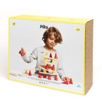 KE02_001 Joc educativ Piks, Kit educational, 128 piese