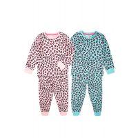 35110318 Set pijama cu maneca lunga si imprimeu Minoti, KG PYJ, Leo