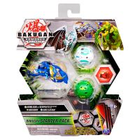 6055886_026w Set Bakugan Armored Alliance, Howlkor x Serpenteze Ultra, Maxodon, Auxillataur 20125409