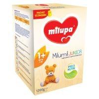 Lapte praf de crestere Milupa Milumil Junior 1+, 1200g