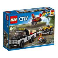 LEGO City Great Vehicles - Echipa de curse pe ATV (60148)