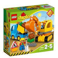 LEGO Duplo - Camion si excavator pe senile (10812)