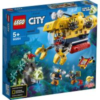 LEGO® City - Submarin de explorare a oceanului (60264)