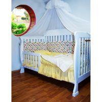 Lenjerie de pat copii Schimbul 3 -  Animalute, 4 piese, 140 x 70cm