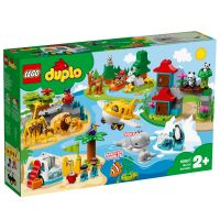 LG10907_001w LEGO® DUPLO® -  Animalele lumii (10907)